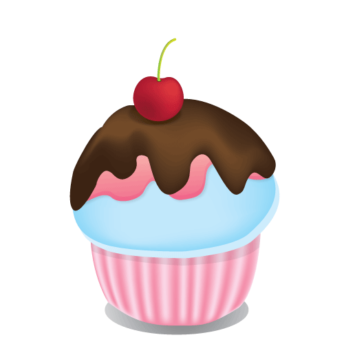 Cupcake vector png. Cherry by gniyuhs on