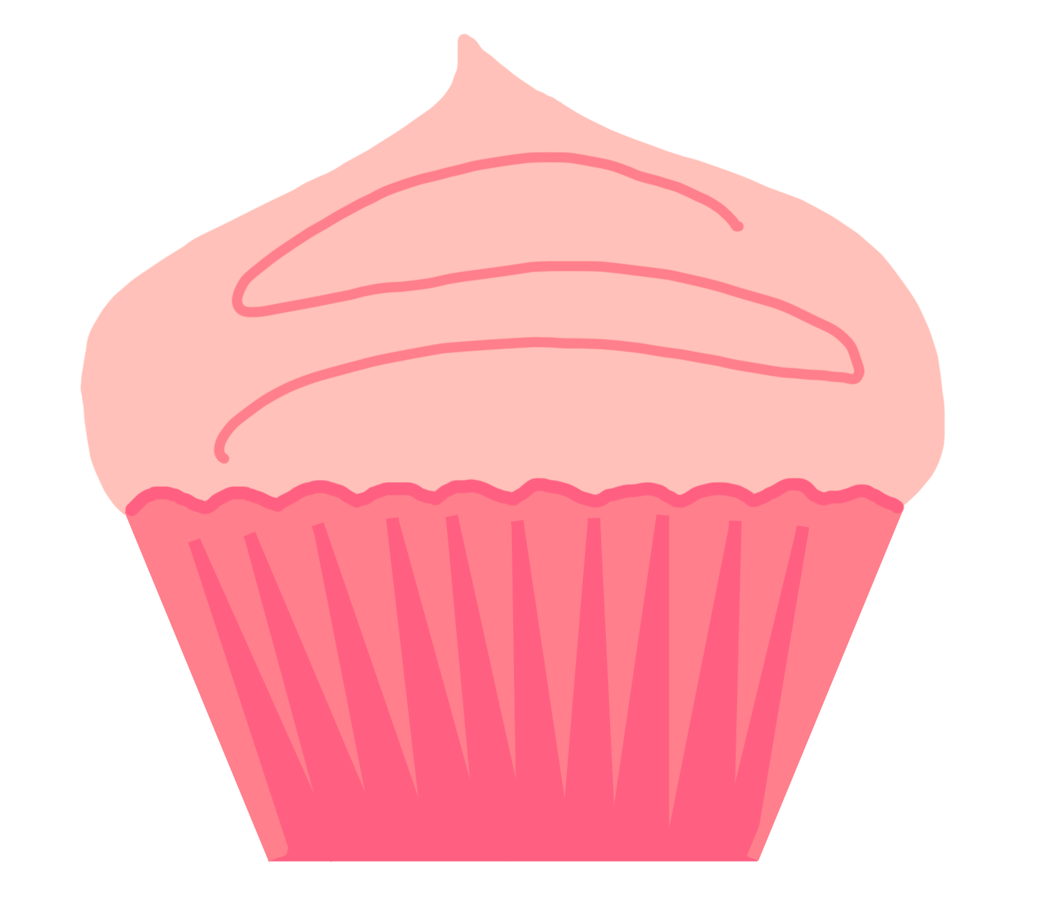 Cupcakes danasrhi top clipartix. Swan clipart crown silhouette clip library library