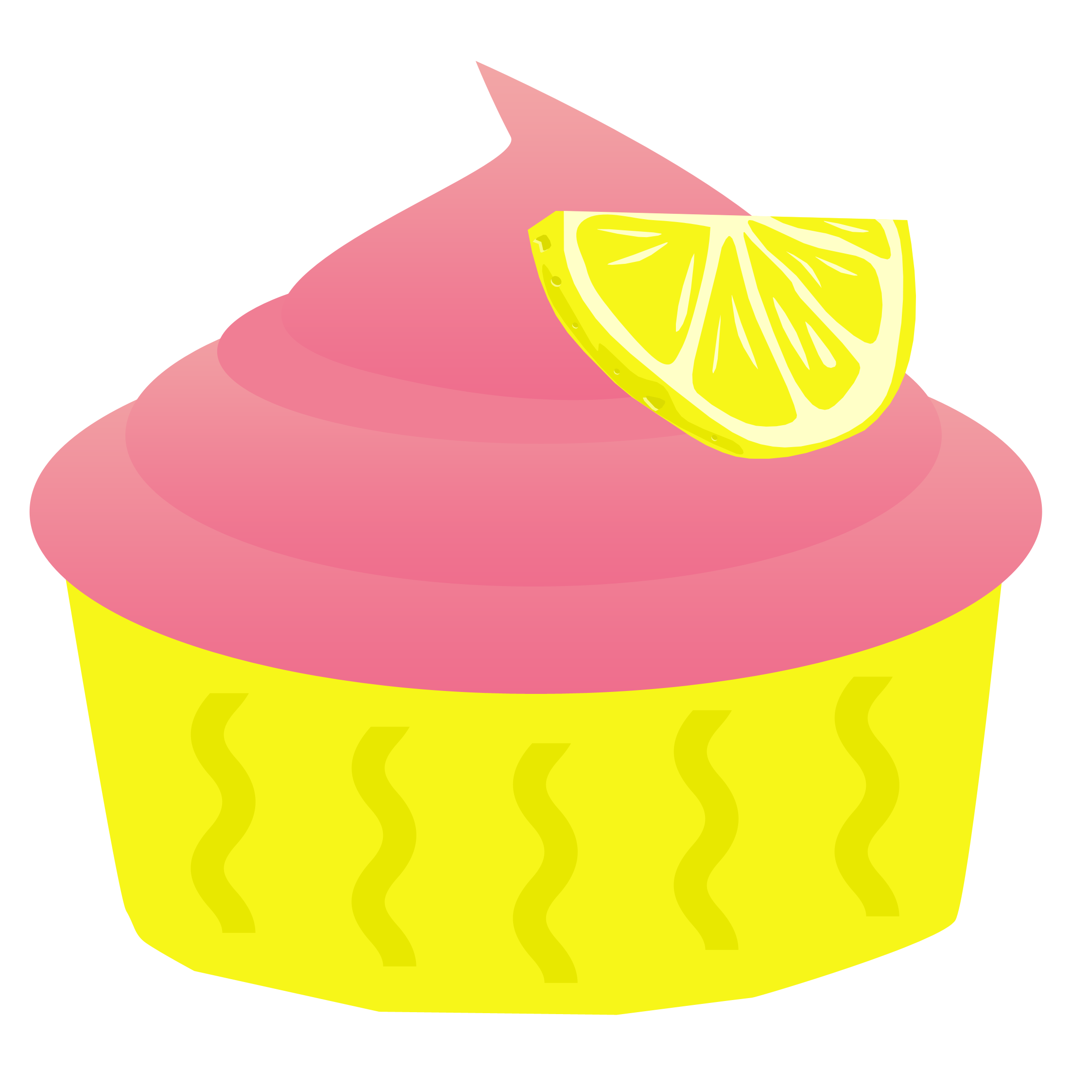 Cupcakes clipart one cupcake. Birthday at getdrawings com