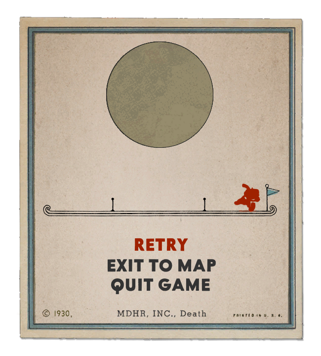 Cuphead death png. Here s a card