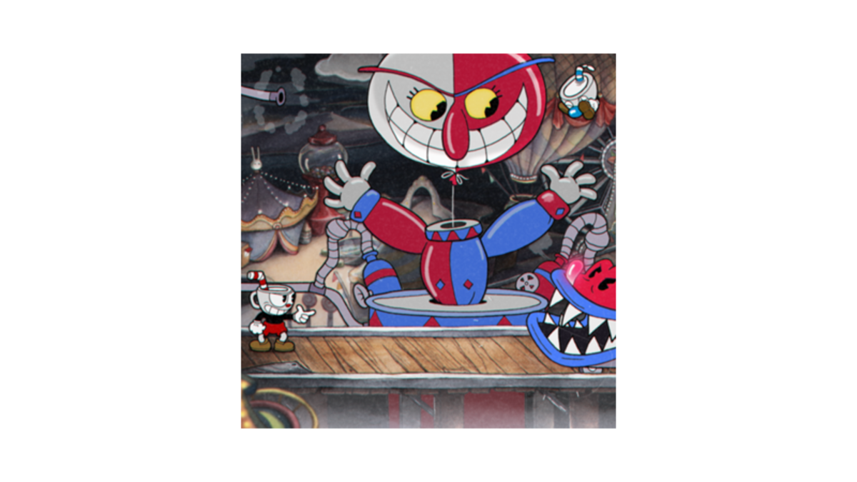 Cuphead head png. A real blast from