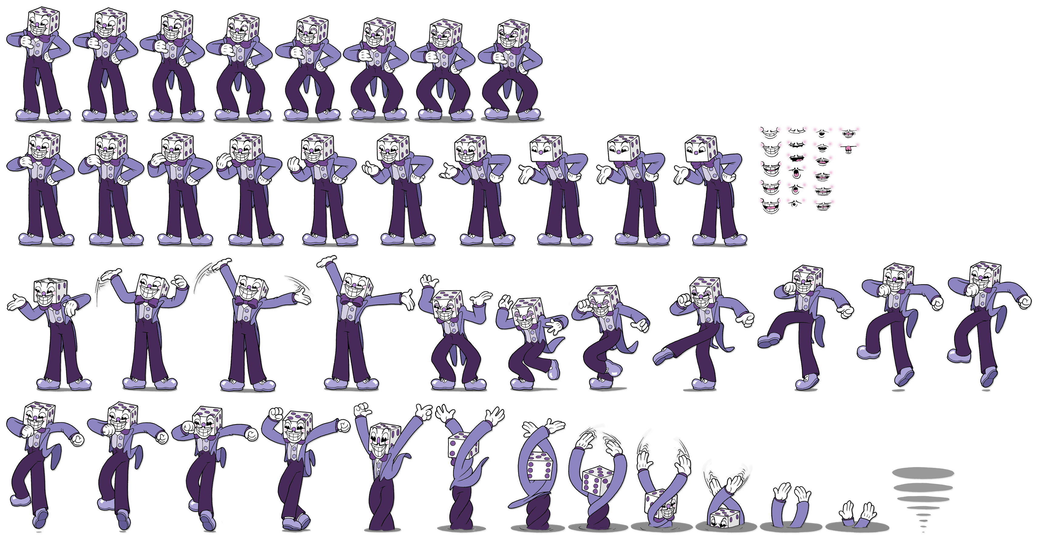 Cuphead king dice png. Pc computer don t