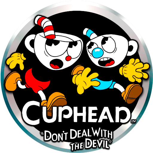 Cuphead logo png. V by pooterman on