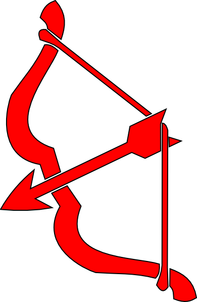 Cupid bow and arrow png. Red n clip art