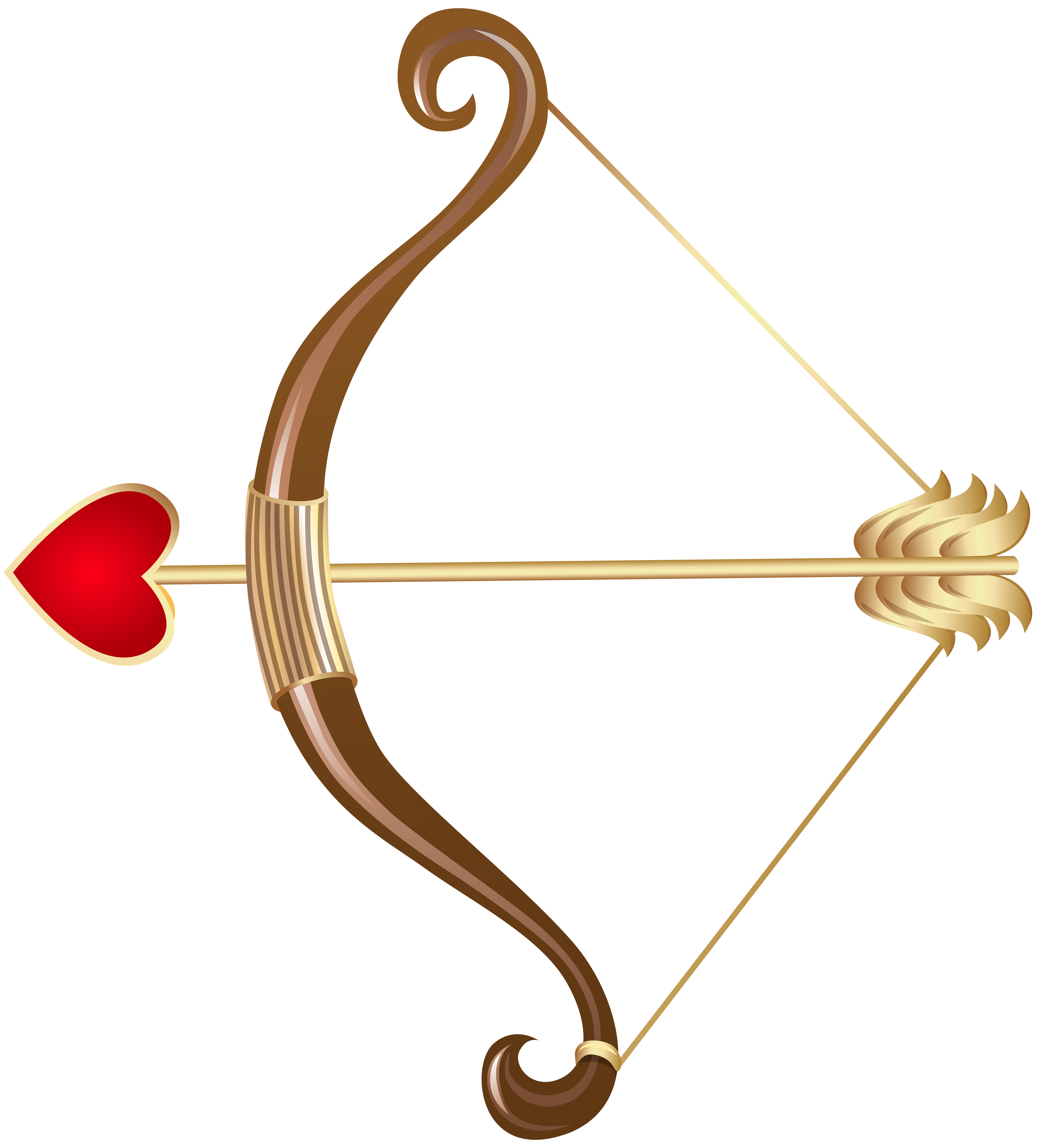 Cupid bow and arrow png. Transparent clip art gallery