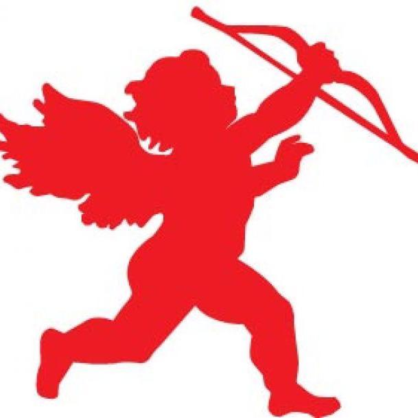 Cupid clipart red. Terrific dinner with on