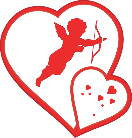 Valentine clip art png. Free cupid pictures download