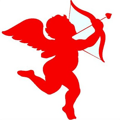 Cupid clipart red. Nanalulu s musings valentine