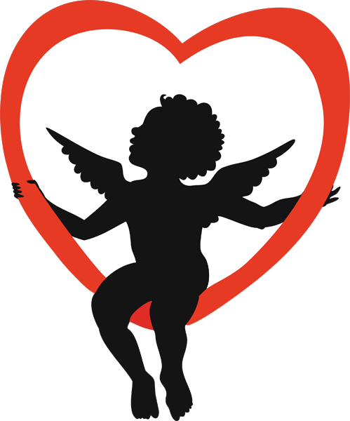Pictures for day clipart. Valentines cupid png banner download