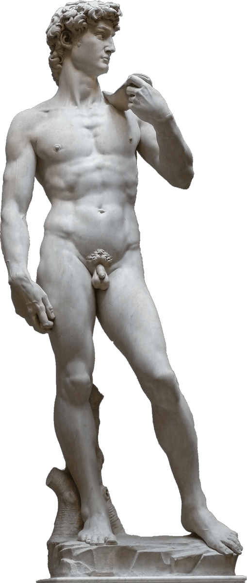 Cupid statue rear png. Search results david view
