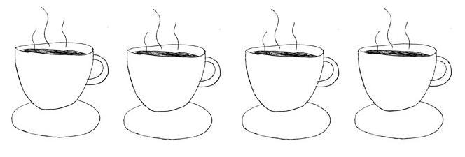 Cups clipart four. Catch the lune a