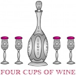 Cups clipart four. Blessing the fourth cup