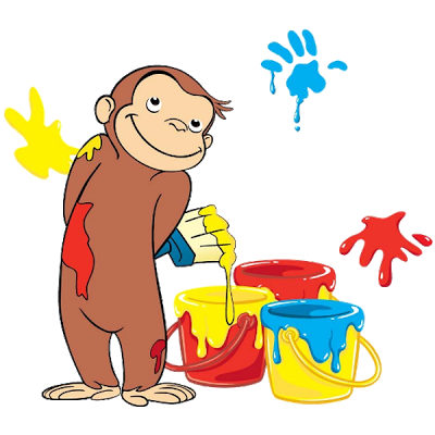 Cartoon images kid stuff. Curious george clipart free stock