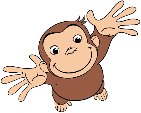 Curious george clipart. Clip art cartoon