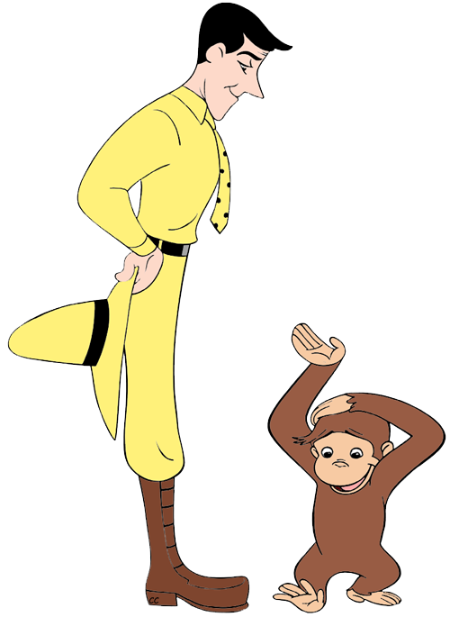 Clip art cartoon man. Curious george clipart png royalty free