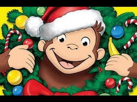 curious george clipart christmas