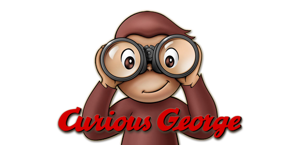 Curious george clipart clear.