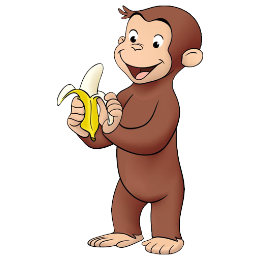 Curious george clipart clear. Tv fanart