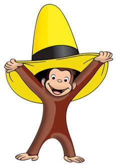 Curious george clipart friend. You never do know