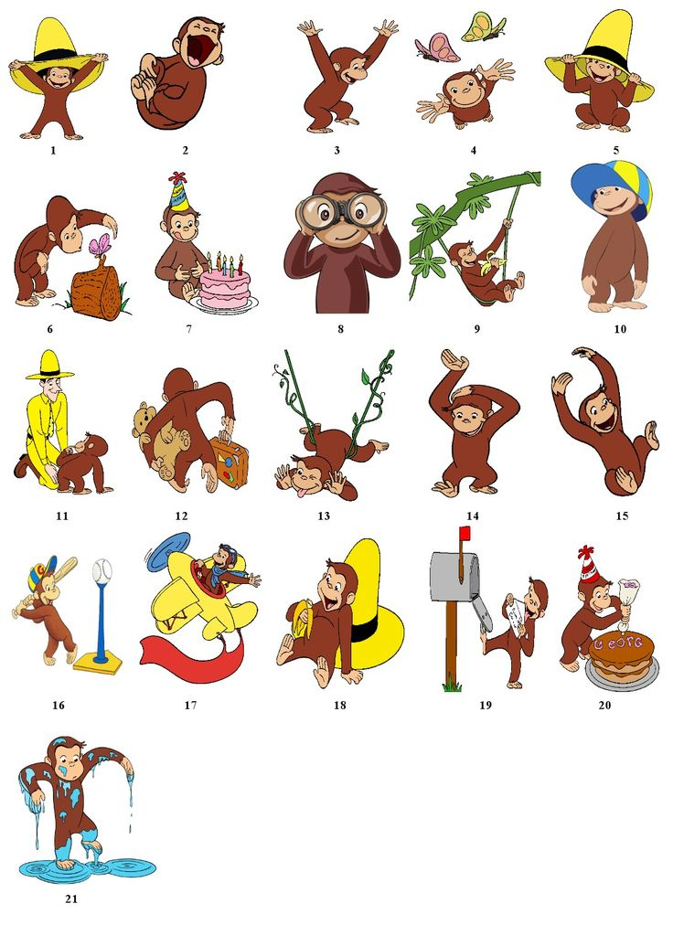 Curious george clipart friend. Best images on