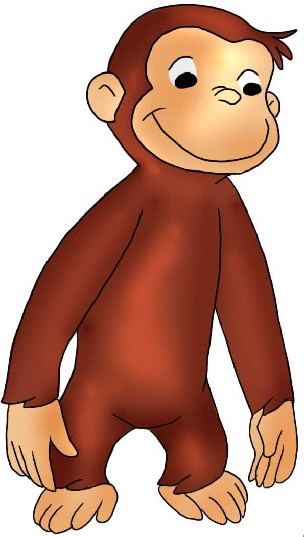 Curious george clipart mad. Best printables images