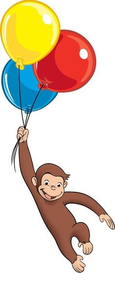 Curious george clipart monkey. Free printable clip art