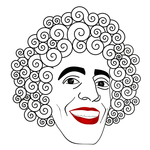 curly clipart