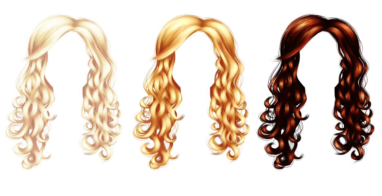 Blonde hair png. By theguillotine on deviantart