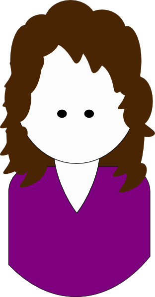 Curly hair clipart png. Cartoon