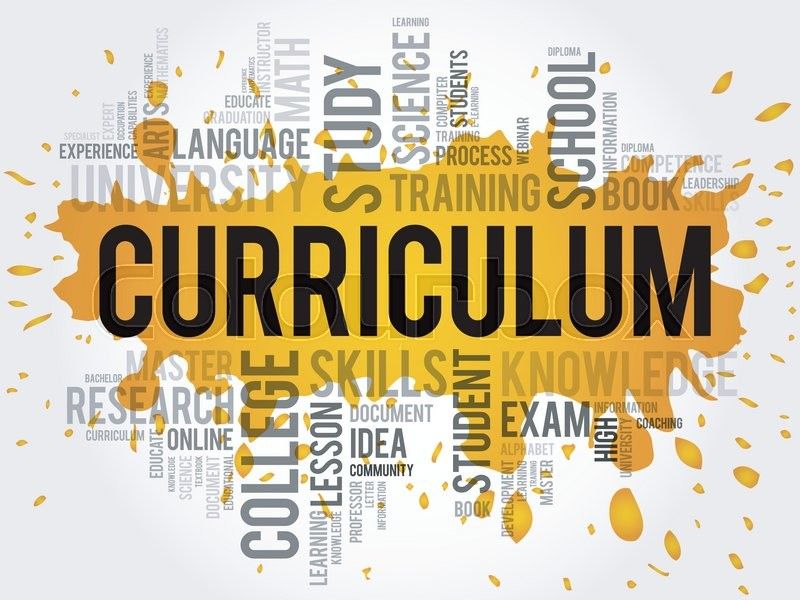 Curriculum clipart. Word cloud education business jpg freeuse library