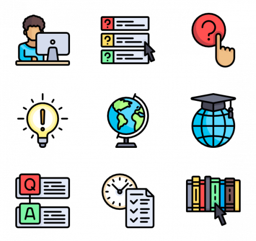 Curriculum clipart education icon. Selecting high school courses