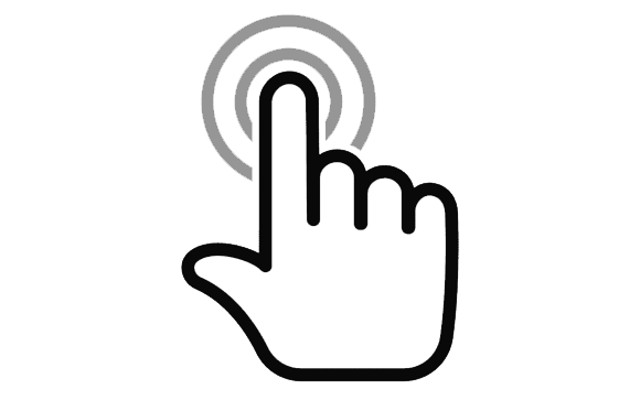 finger pointer mouse png