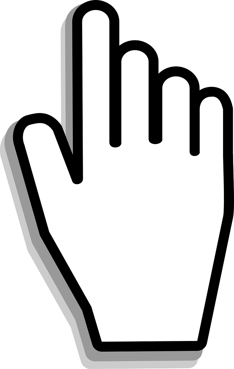 Cursor png. Hand mouse click image