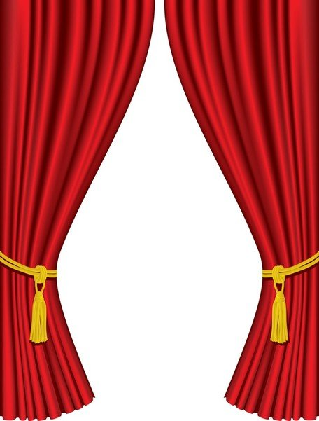 Curtain clipart. Free and vector graphics vector free stock