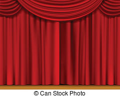 Red curtains clip art. Curtain clipart svg black and white download