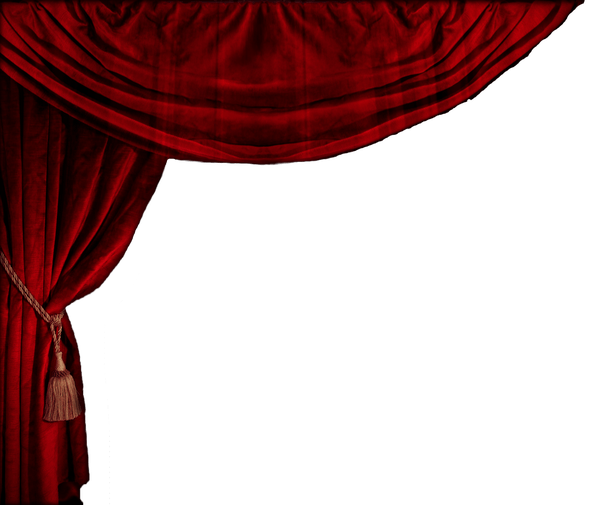 Curtain clipart battleblock theater. Transparent theatre vtwctr red