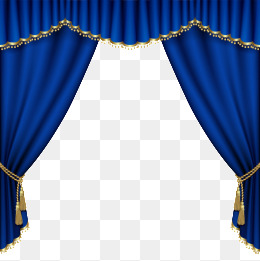 Curtains png vectors psd. Curtain clipart blue curtain banner transparent library