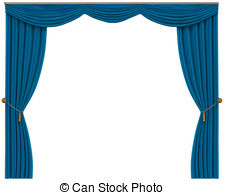 Curtains stock photo images. Curtain clipart blue curtain svg free library