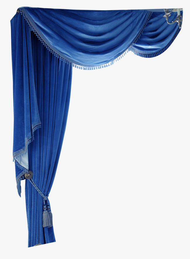 Curtain clipart blue curtain. Curtains free download png