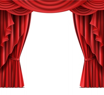 Curtain clipart corner. Vectors photos and psd png