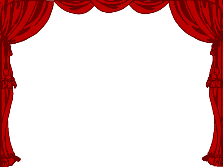 Curtain clipart curtain raiser. Another word for theater