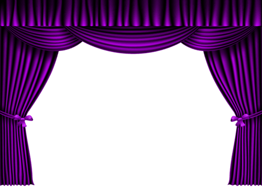 Curtain clipart cute. Download purple png photo