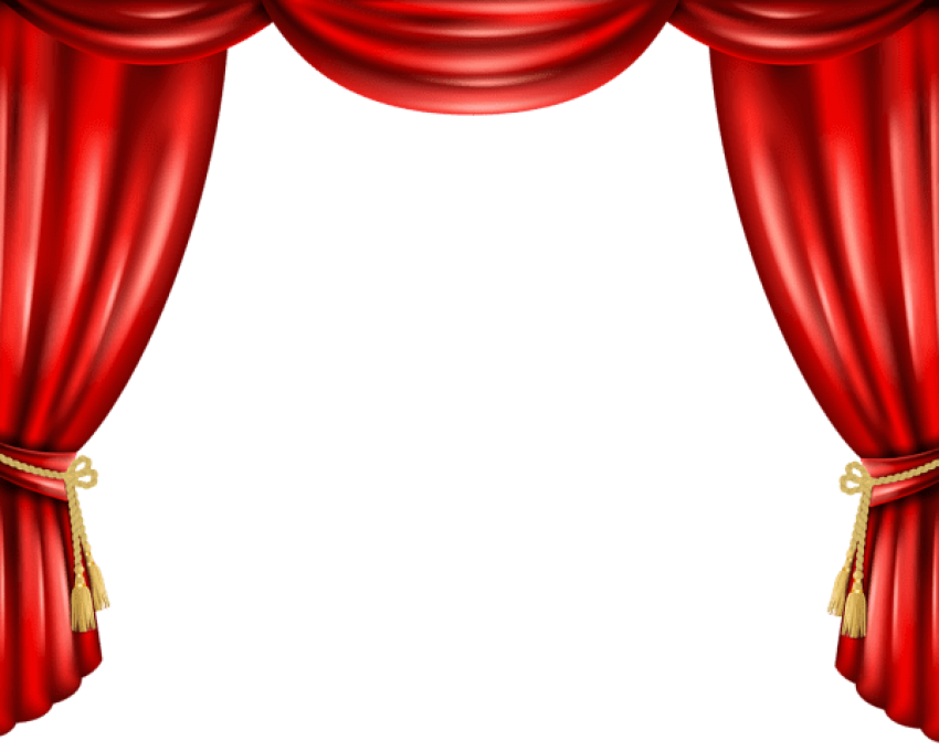 Curtain clipart elegant. Download red png photo