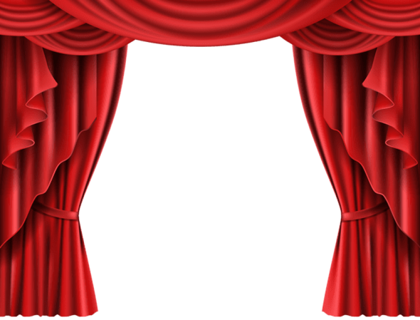 Curtain clipart elegant. Download red theater transparent
