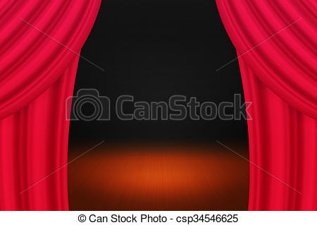 Curtain clipart elegant. Red background clip art png royalty free download