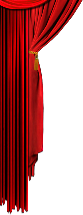 Curtain clipart left. Curtains png images free