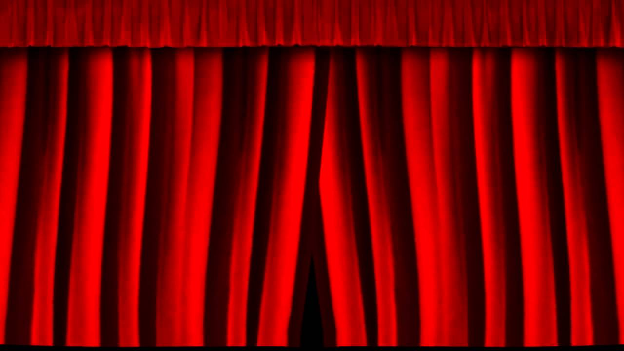 Closing youtube . Curtain clipart play clip black and white library