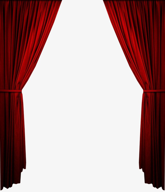 Curtain clipart real. Red png vectors psd