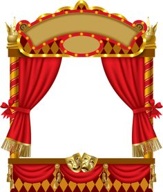 Red transparent it pinterest. Curtains clipart curtain frame vector free library