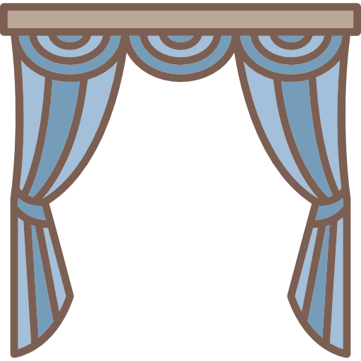 curtain png freeuse. Curtains clipart kitchen window jpg transparent download